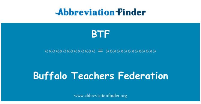 BTF: Buffalo Teachers Federation