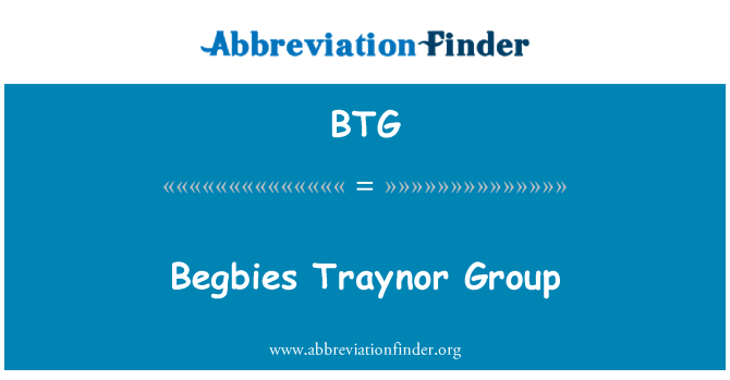 BTG: Begbies Traynor Group