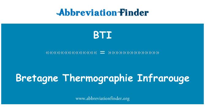 BTI: Bretagne Thermographie Infrarouge