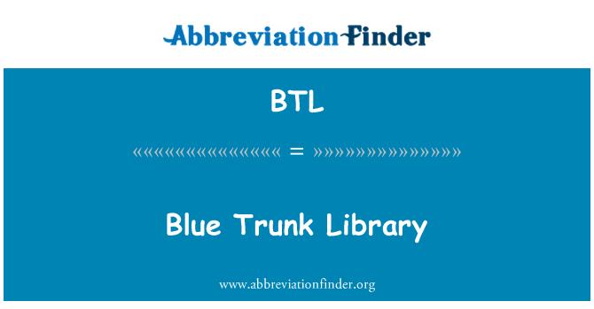 BTL: Blue Trunk Library