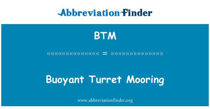 BTM: Buoyant Turret Mooring