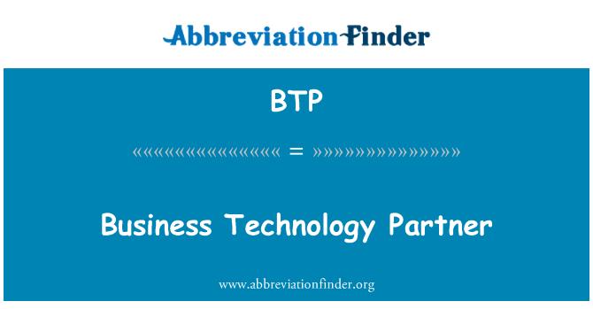BTP: Business Technology Partner