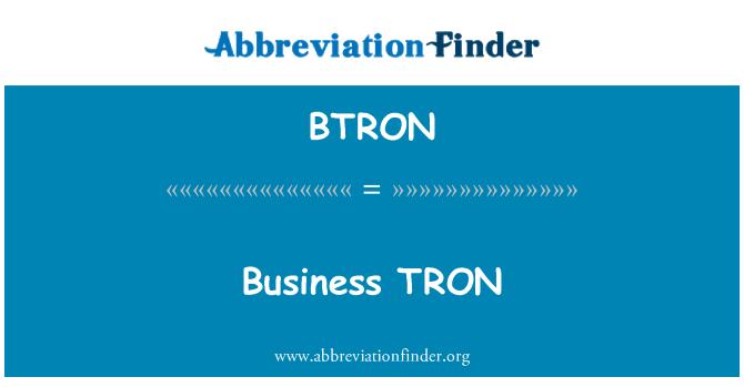 BTRON: Business TRON