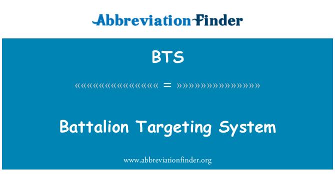 BTS: Battalion Targeting System