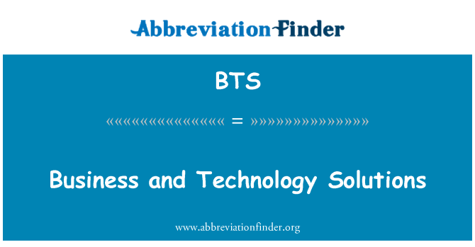 BTS: Business and Technology Solutions