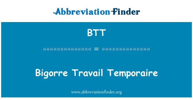 BTT: Bigorre Travail Temporaire