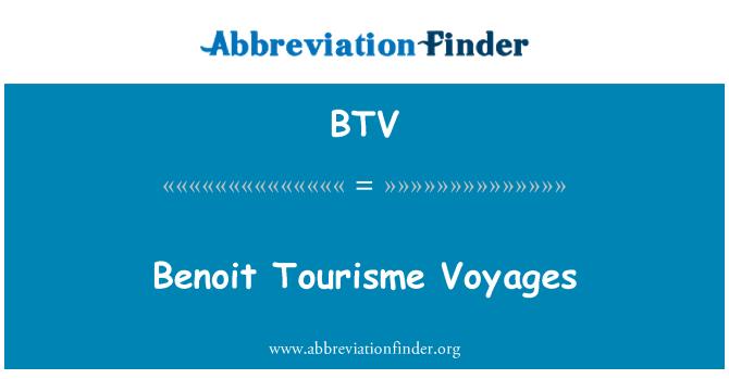 BTV: Benoit Tourisme Voyages