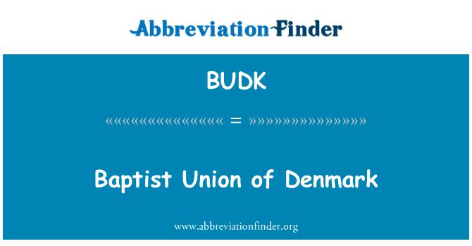 BUDK: Baptist Union of Denmark