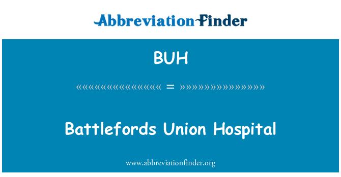 BUH: Battlefords Union Hospital