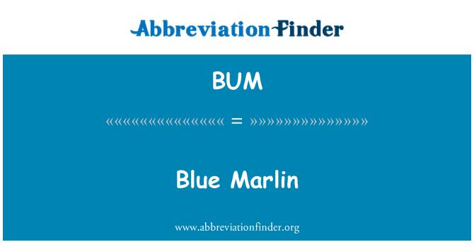 BUM: Blue Marlin