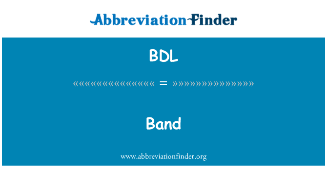 BDL: 乐队