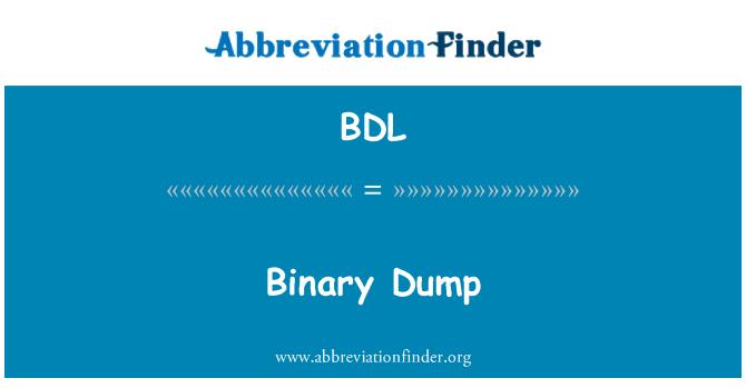 BDL: Longgokan perduaan