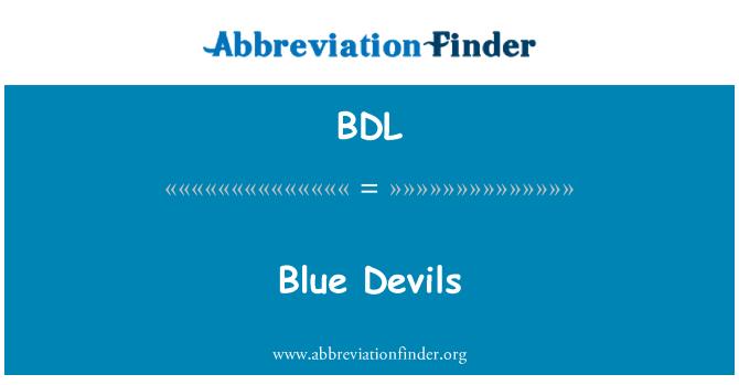 BDL: 蓝色的魔鬼