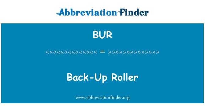 BUR: Back-Up Roller