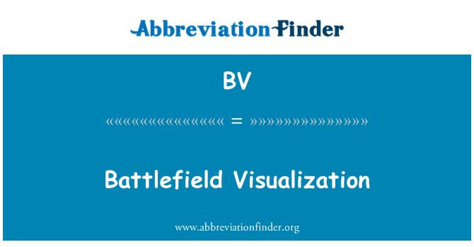 BV: Battlefield Visualization