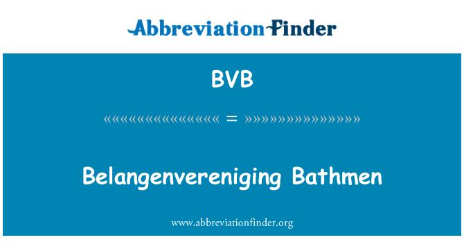 BVB: Belangenvereniging Bathmen