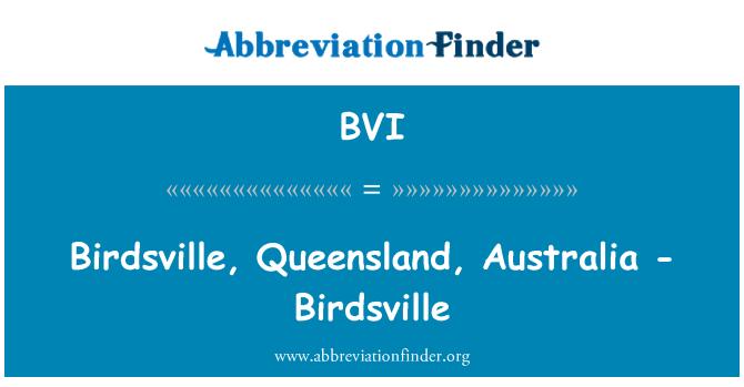 BVI: Birdsville, Queensland, Australia - Birdsville