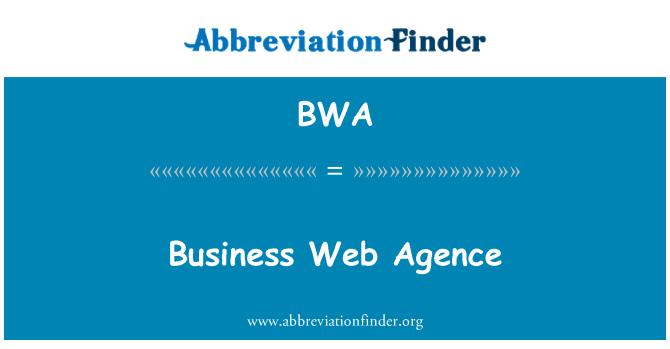 BWA: Business Web Agence