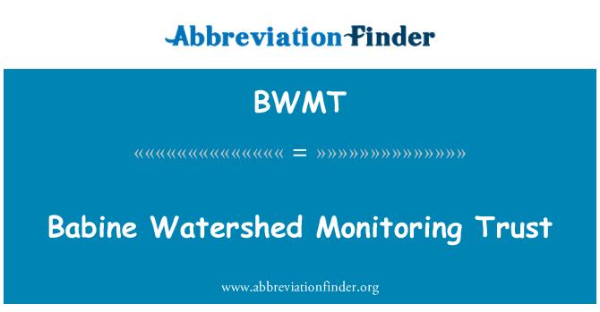BWMT: Babine Watershed Monitoring Trust
