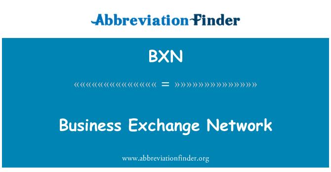 BXN: Red de intercambio de negocios