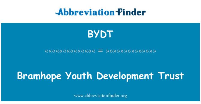 BYDT: Bramhope Youth Development Trust