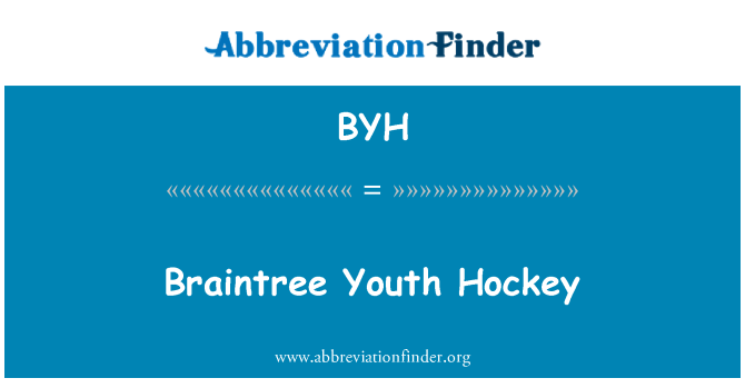 BYH: Braintree Youth Hockey