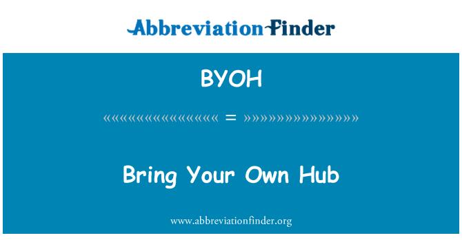 BYOH: Trae tu propio Hub