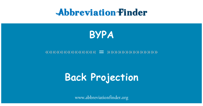 BYPA: Kembali unjuran