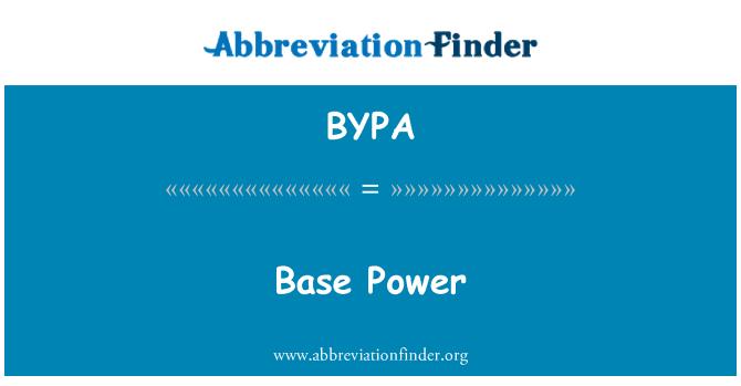 BYPA: Asas kuasa