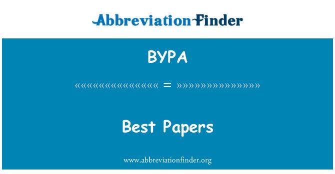 BYPA: Najlepšie knihy