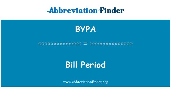 BYPA: 条例草案期间
