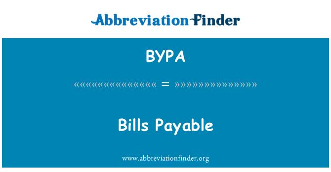 BYPA: Bil belum bayar