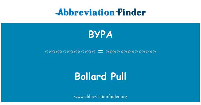BYPA: Bollard tarik