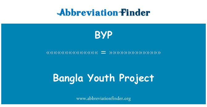 BYP: Bangla Youth Project