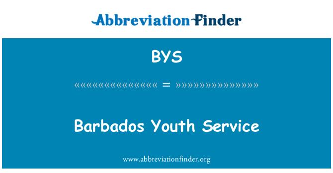 BYS: Servicio de la juventud de Barbados