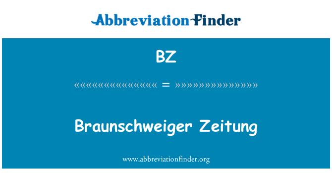 BZ: Braunschweiger Zeitung
