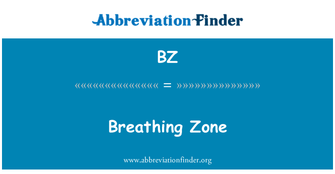 BZ: Breathing Zone