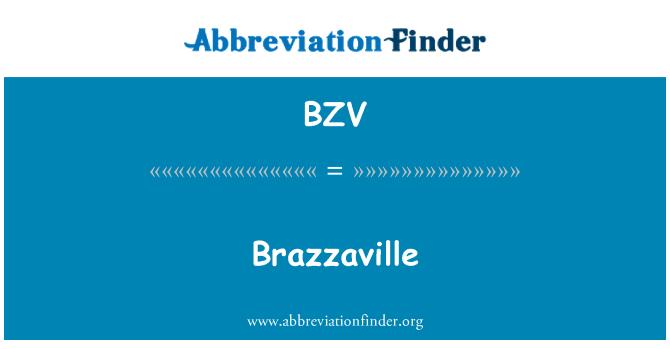 BZV: Brazzaville