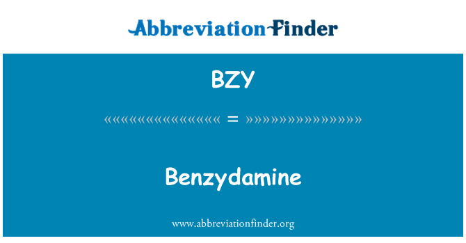 BZY: Bencidamina