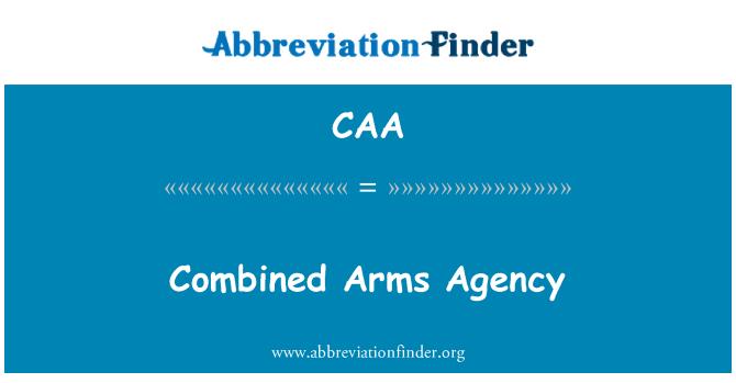 CAA: Agencia de armas combinadas