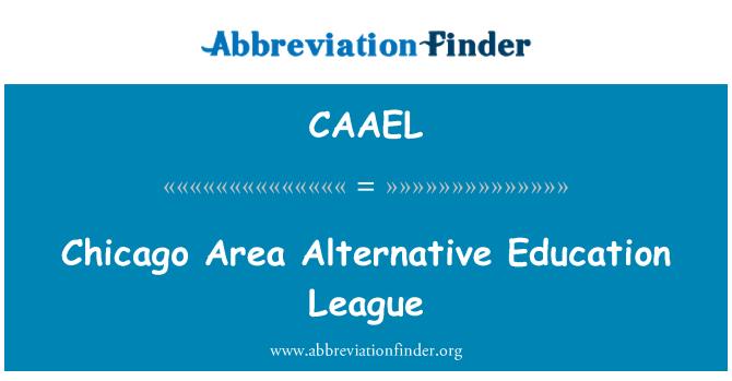 CAAEL: 芝加哥地区替代教育联盟