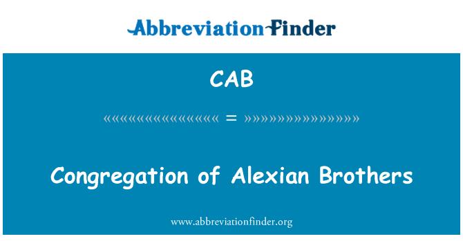 CAB: Congregación de Alexian Brothers