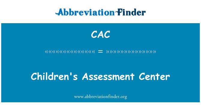 CAC: Children's Assessment Center