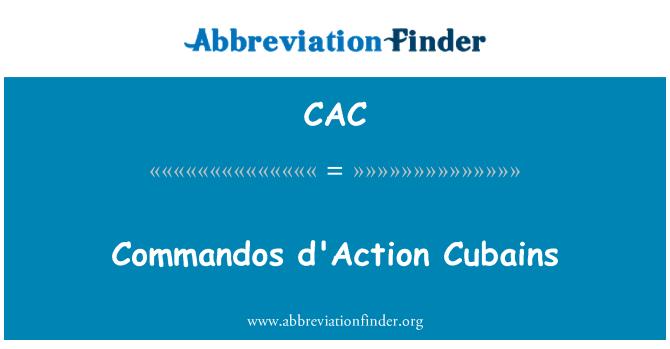 CAC: Commandos d'Action Cubains