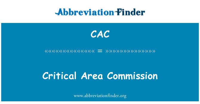CAC: Critical Area Commission