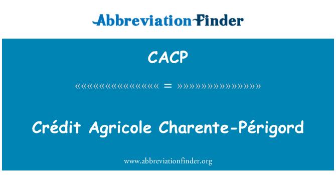 CACP: Crédit Agricole Пуату Перигор