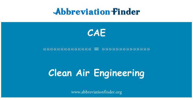 CAE: Clean Air Engineering