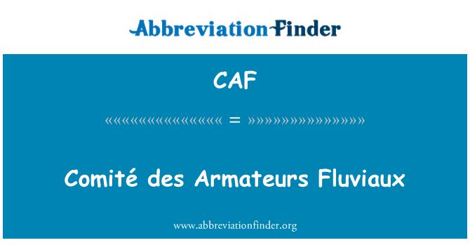 CAF: Fluviaux Comité des Armateurs