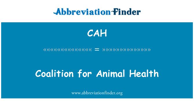 CAH: Coalición para la Salud Animal