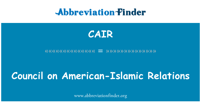 CAIR: Council on American-Islamic Relations